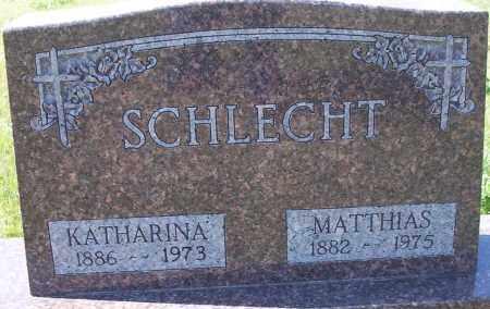SCHLECHT, KATHARINA - Logan County, North Dakota | KATHARINA SCHLECHT - North Dakota Gravestone Photos