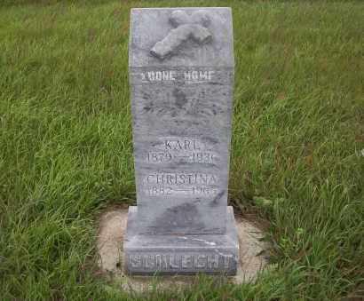 SCHLECHT, KARL - Logan County, North Dakota | KARL SCHLECHT - North Dakota Gravestone Photos