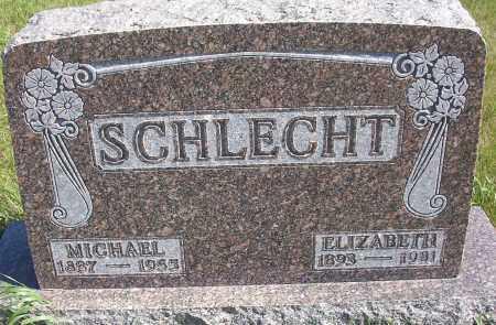 SCHLECHT, ELIZABETH - Logan County, North Dakota   ELIZABETH SCHLECHT - North Dakota Gravestone Photos
