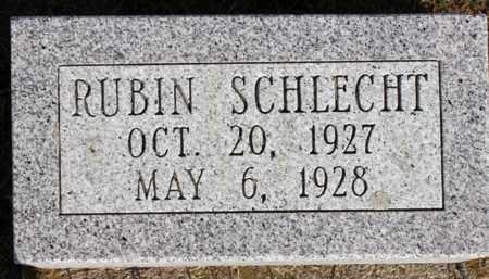 SCHLECHT, RUBIN - Logan County, North Dakota | RUBIN SCHLECHT - North Dakota Gravestone Photos