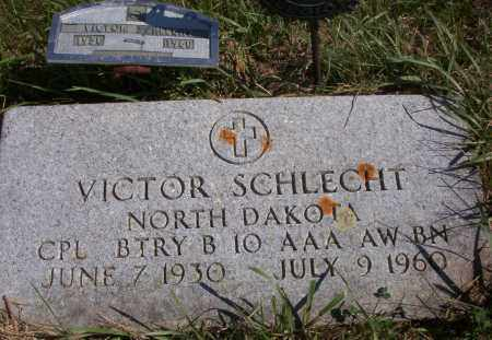 SCHLECHT, VICTOR - Logan County, North Dakota | VICTOR SCHLECHT - North Dakota Gravestone Photos