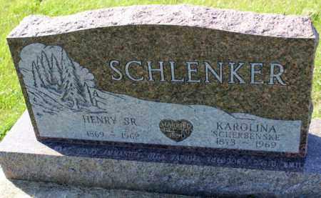 SCHERBENSKE SCHLENKER, KAROLINA - Logan County, North Dakota | KAROLINA SCHERBENSKE SCHLENKER - North Dakota Gravestone Photos