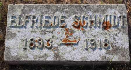 SCHMIDT, ELFRIEDE - Logan County, North Dakota   ELFRIEDE SCHMIDT - North Dakota Gravestone Photos