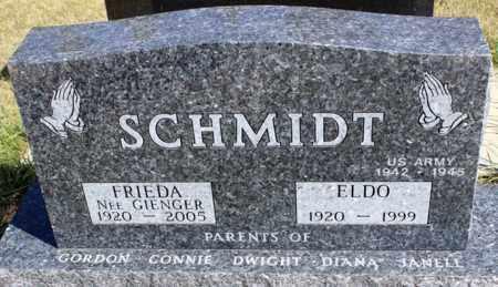 SCHMIDT, FRIEDA - Logan County, North Dakota | FRIEDA SCHMIDT - North Dakota Gravestone Photos