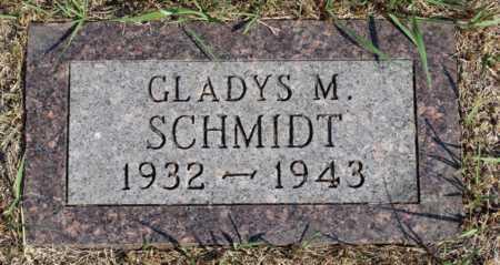 SCHMIDT, GLADYS M. - Logan County, North Dakota | GLADYS M. SCHMIDT - North Dakota Gravestone Photos