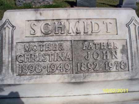 SCHMIDT, JOHN - Logan County, North Dakota   JOHN SCHMIDT - North Dakota Gravestone Photos