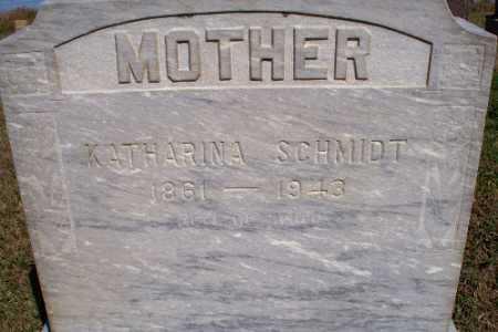 SCHMIDT, KATHARINA - Logan County, North Dakota | KATHARINA SCHMIDT - North Dakota Gravestone Photos