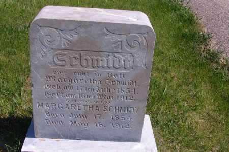 SCHMIDT, MARGARETHA - Logan County, North Dakota   MARGARETHA SCHMIDT - North Dakota Gravestone Photos