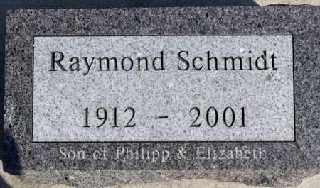 SCHMIDT, RAYMOND - Logan County, North Dakota | RAYMOND SCHMIDT - North Dakota Gravestone Photos