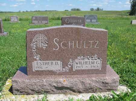BUERKLE SCHULTZ 174, ESTHER D. - Logan County, North Dakota | ESTHER D. BUERKLE SCHULTZ 174 - North Dakota Gravestone Photos