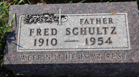 SCHULTZ, FRED - Logan County, North Dakota | FRED SCHULTZ - North Dakota Gravestone Photos