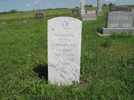 SCHWEIGERT 170, MARLYN GLEN - Logan County, North Dakota | MARLYN GLEN SCHWEIGERT 170 - North Dakota Gravestone Photos