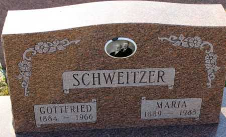SCHWEITZER, MARIA - Logan County, North Dakota | MARIA SCHWEITZER - North Dakota Gravestone Photos