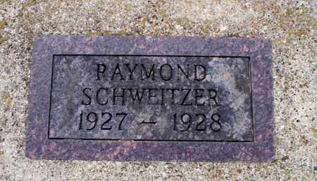 SCHWEITZER, RAYMOND - Logan County, North Dakota | RAYMOND SCHWEITZER - North Dakota Gravestone Photos