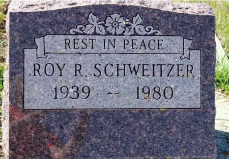 SCHWEITZER, ROY R. - Logan County, North Dakota | ROY R. SCHWEITZER - North Dakota Gravestone Photos