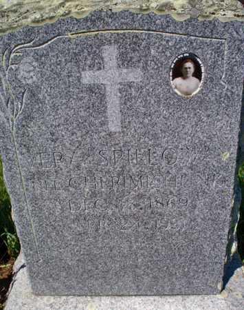 CHERMISHNUK SPILLOWAY, VERA - Logan County, North Dakota | VERA CHERMISHNUK SPILLOWAY - North Dakota Gravestone Photos