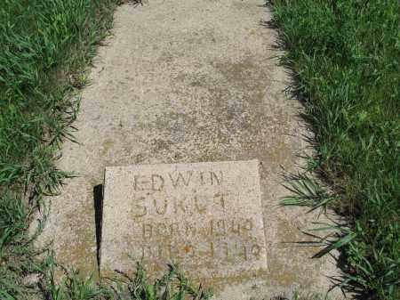 SUKUT 029, EDWIN - Logan County, North Dakota | EDWIN SUKUT 029 - North Dakota Gravestone Photos