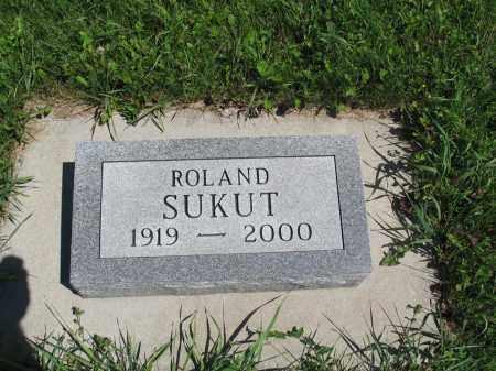 SUKUT 064, ROLAND - Logan County, North Dakota   ROLAND SUKUT 064 - North Dakota Gravestone Photos
