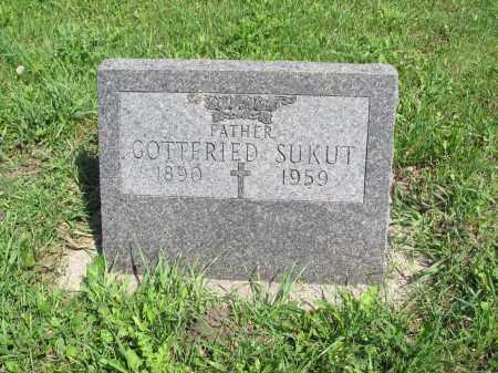 SUKUT 161, GOTTFRIED JR. - Logan County, North Dakota | GOTTFRIED JR. SUKUT 161 - North Dakota Gravestone Photos