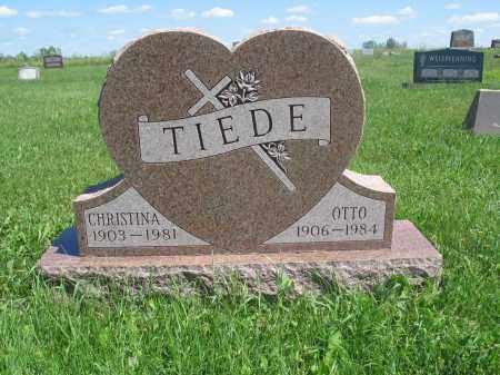 TIEDE 056, CHRISTINA - Logan County, North Dakota | CHRISTINA TIEDE 056 - North Dakota Gravestone Photos