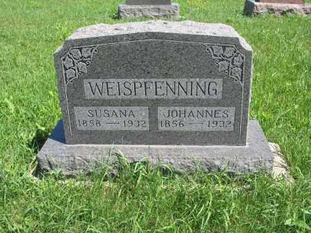 WEISPFENNING 130, JOHANNES - Logan County, North Dakota | JOHANNES WEISPFENNING 130 - North Dakota Gravestone Photos