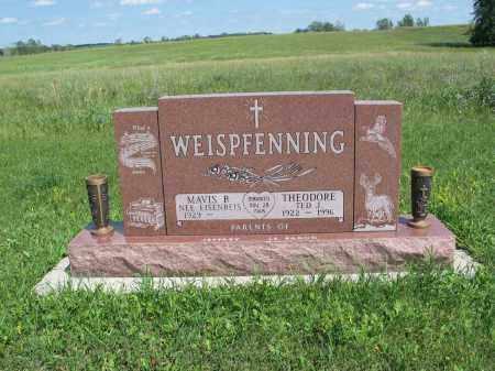 WEISPFENNING 191, MAVIS P. - Logan County, North Dakota | MAVIS P. WEISPFENNING 191 - North Dakota Gravestone Photos