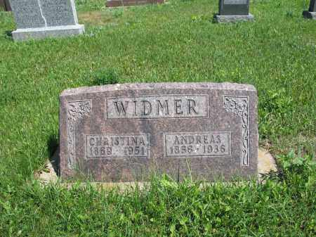 HELLER WIDMER 124, CHRISTINA - Logan County, North Dakota   CHRISTINA HELLER WIDMER 124 - North Dakota Gravestone Photos