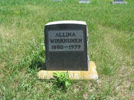 WIRKKUNEN, ALLINA - Logan County, North Dakota | ALLINA WIRKKUNEN - North Dakota Gravestone Photos