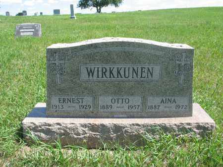 WIRKKUNEN, OTTO - Logan County, North Dakota | OTTO WIRKKUNEN - North Dakota Gravestone Photos