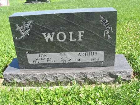 SCHWEITZER WOLF 060, IDA - Logan County, North Dakota | IDA SCHWEITZER WOLF 060 - North Dakota Gravestone Photos