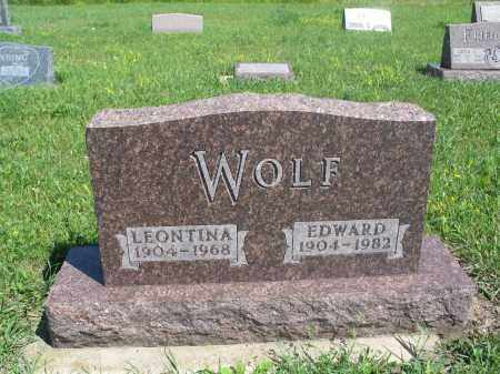 WOLF 176, LEONTINA - Logan County, North Dakota   LEONTINA WOLF 176 - North Dakota Gravestone Photos