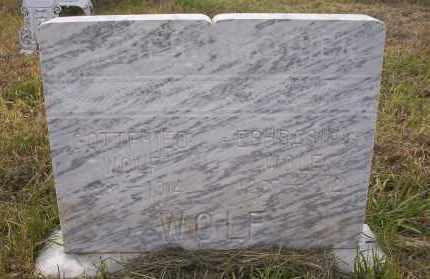 WOLF, GOTTFRIED - Logan County, North Dakota | GOTTFRIED WOLF - North Dakota Gravestone Photos