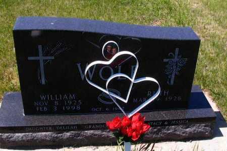 WOLF, WILLIAM - Logan County, North Dakota | WILLIAM WOLF - North Dakota Gravestone Photos