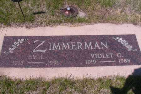 ZIMMERMAN, EMIL - Logan County, North Dakota | EMIL ZIMMERMAN - North Dakota Gravestone Photos