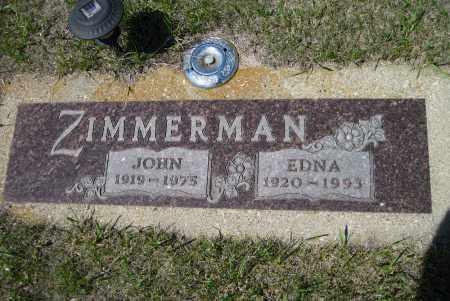 ZIMMERMAN, JOHN - Logan County, North Dakota | JOHN ZIMMERMAN - North Dakota Gravestone Photos