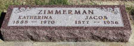 ZIMMERMAN, JACOB - Logan County, North Dakota | JACOB ZIMMERMAN - North Dakota Gravestone Photos