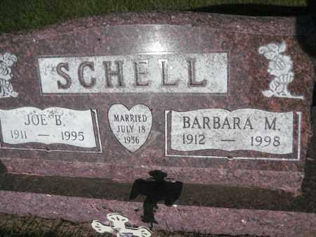 SCHELL, BARBARA MARGARET - McHenry County, North Dakota   BARBARA MARGARET SCHELL - North Dakota Gravestone Photos