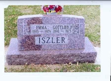 ISZLER, GOTTLIEB J. - McIntosh County, North Dakota | GOTTLIEB J. ISZLER - North Dakota Gravestone Photos