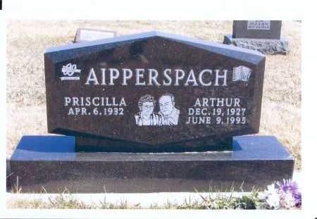AIPPERSPACH, ARTHUR - McIntosh County, North Dakota   ARTHUR AIPPERSPACH - North Dakota Gravestone Photos