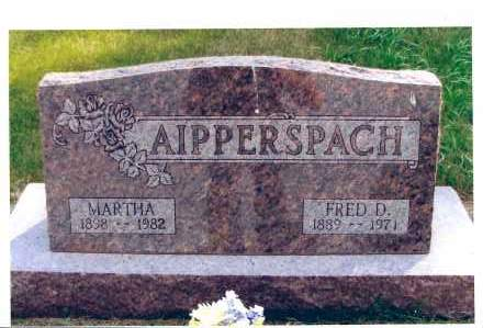 AIPPERSPACH, FRED D. - McIntosh County, North Dakota | FRED D. AIPPERSPACH - North Dakota Gravestone Photos