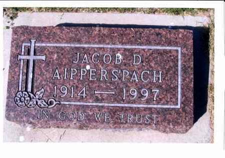 AIPPERSPACH, JACOB D. - McIntosh County, North Dakota | JACOB D. AIPPERSPACH - North Dakota Gravestone Photos