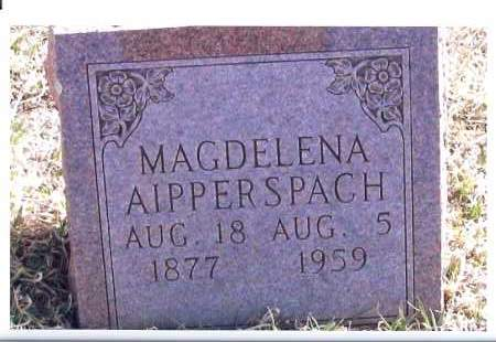 AIPPERSPACH, MAGELENA - McIntosh County, North Dakota | MAGELENA AIPPERSPACH - North Dakota Gravestone Photos