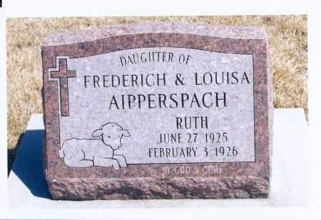 AIPPERSPACH, RUTH - McIntosh County, North Dakota | RUTH AIPPERSPACH - North Dakota Gravestone Photos