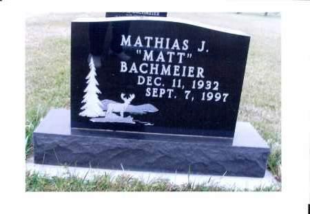 BACKMEIER, MATHIAS J. - McIntosh County, North Dakota | MATHIAS J. BACKMEIER - North Dakota Gravestone Photos