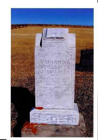 BADER, KATHARINA - McIntosh County, North Dakota | KATHARINA BADER - North Dakota Gravestone Photos