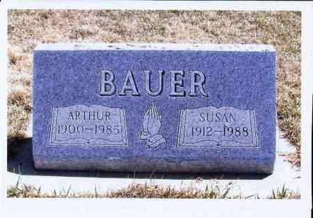 BAUER, ARTHUR - McIntosh County, North Dakota | ARTHUR BAUER - North Dakota Gravestone Photos