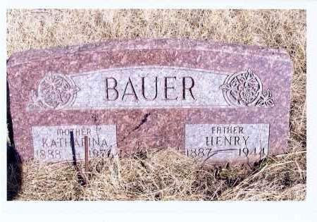 OSTER BAUER, KATHARINA - McIntosh County, North Dakota | KATHARINA OSTER BAUER - North Dakota Gravestone Photos