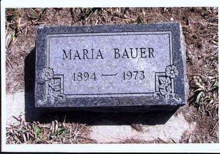 BAUER, MARIA - McIntosh County, North Dakota | MARIA BAUER - North Dakota Gravestone Photos