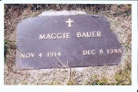BAUER, MAGGIE - McIntosh County, North Dakota | MAGGIE BAUER - North Dakota Gravestone Photos