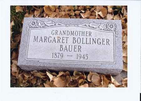 BAUER, MARGARET - McIntosh County, North Dakota | MARGARET BAUER - North Dakota Gravestone Photos
